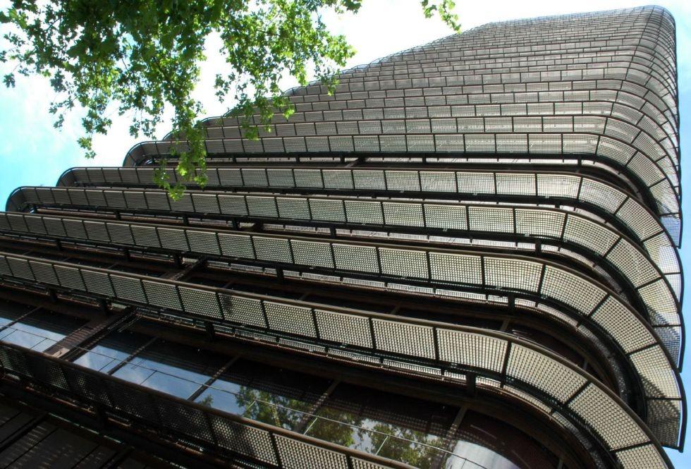 Torre del Banco de Bilbao de Sáenz de Oiza (1971-1981).