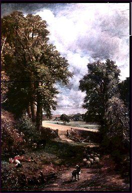 Campo de trigo de John Constable.