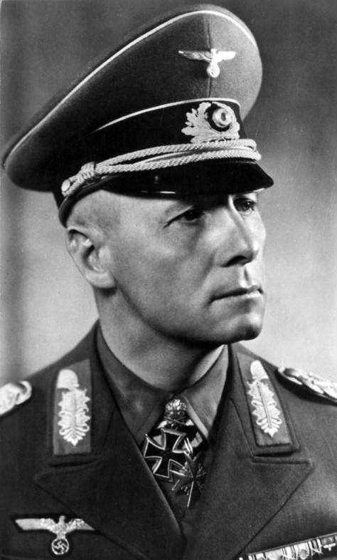 """Rommel """"el zorro del desierto""""."""