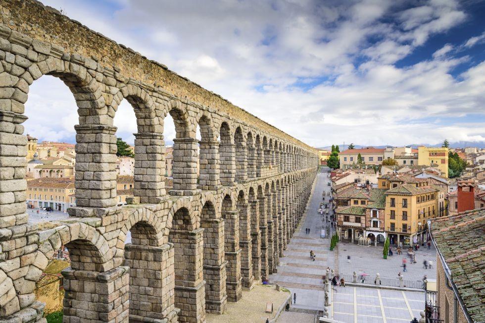 Acueducto de Segovia.