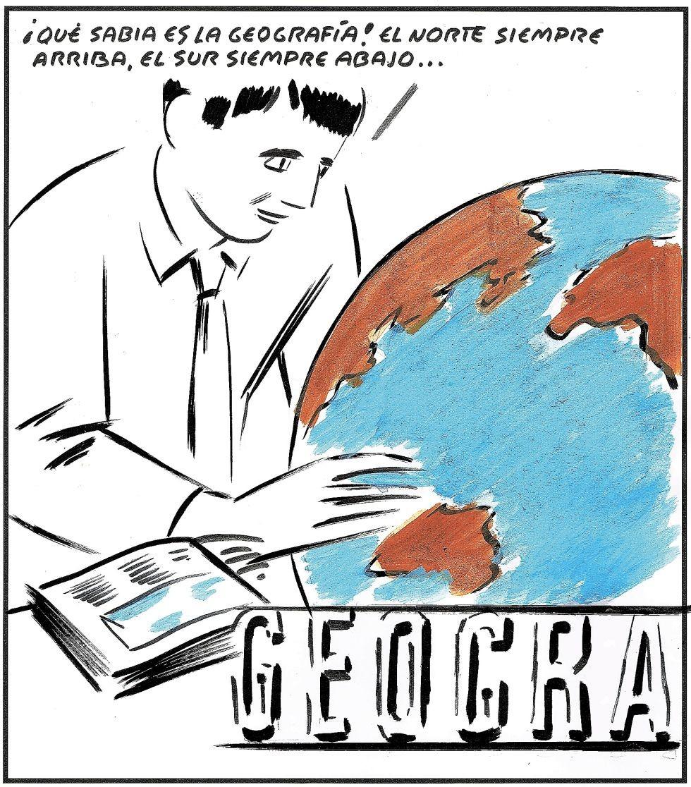 IRONÍAS DE LA GEOGRAFÍA: LA DISTRIBUCIÓN MUNDIAL DE  RICOS (NORTE) Y DE POBRES (SUR)....