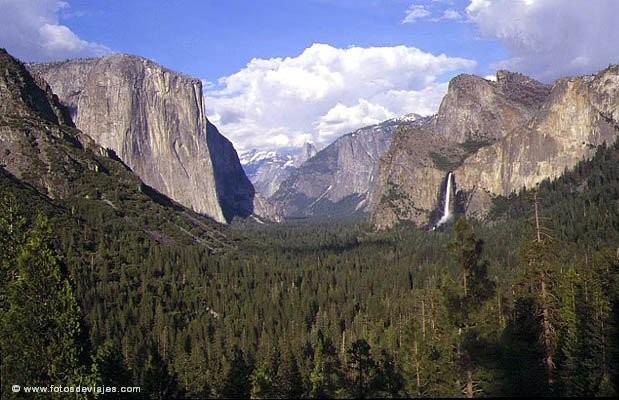 Yosemite, el paraiso de John Muir.