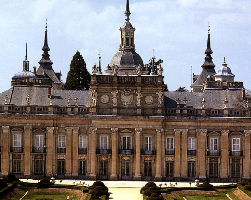 Palacio de La Granja de Juvara y Sacchetti.