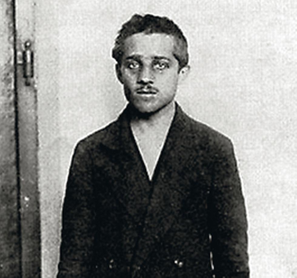 Gavrilo Prinzip, nacionalista serbio que asesinó al archiduque.