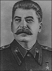 Iósif Vissarionovich Dzugashvili, Stalin.