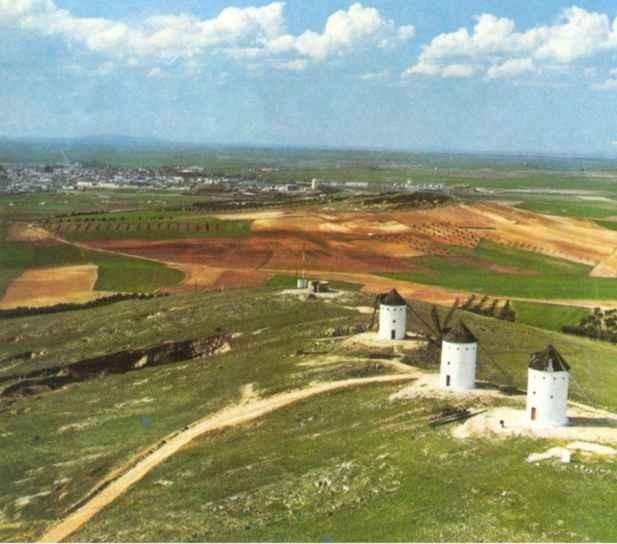 La Mancha, Submeseta Sur