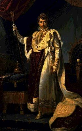 Retrato de Napoleón de F. Gerard.