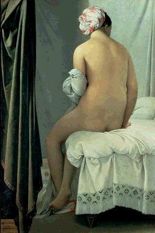 La bañista de Valpinçon de Ingres.