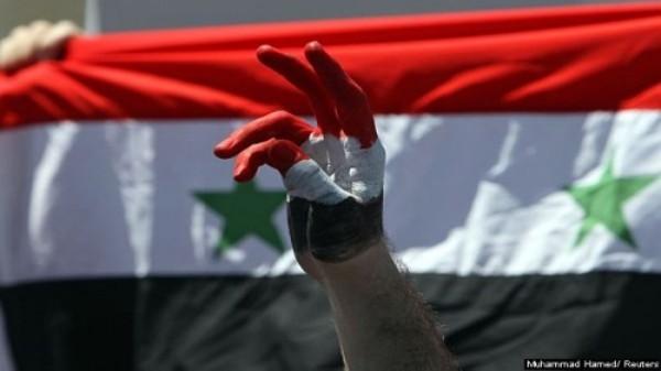 La población civil por la libertad en Siria.