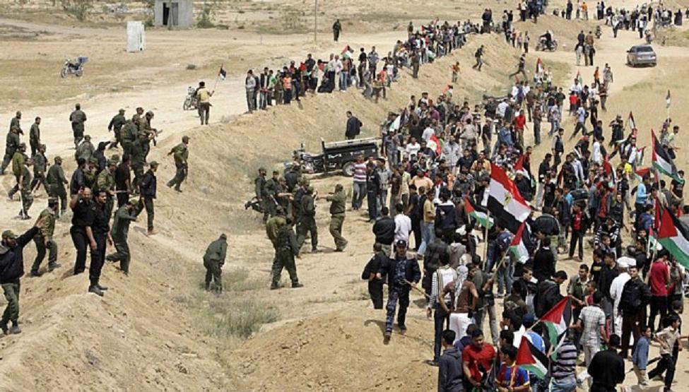 Enfrentamiento entre fuerzas militares y población civil.