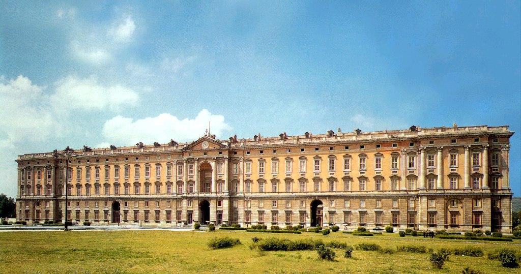 Palacio de Caserta en Nápoles.