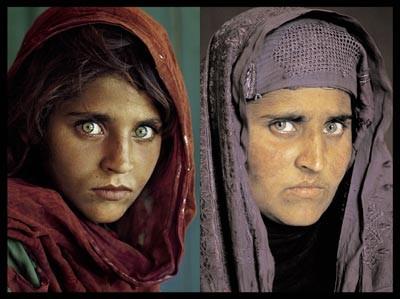 La niña afgana (invasión de Afganistán)