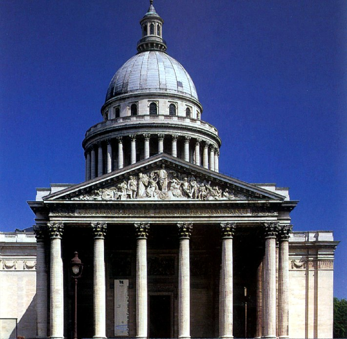 Iglesia de Santa Genoveva en París.