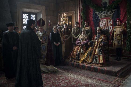 La serie Isabel la Católica.