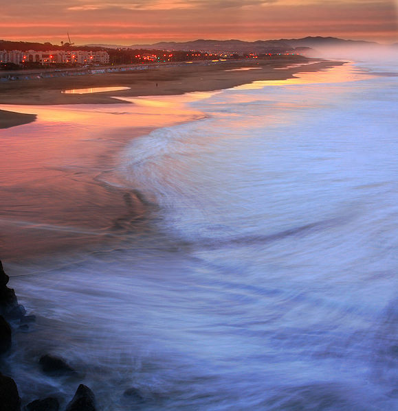 Ocean Beach en San Francisco.