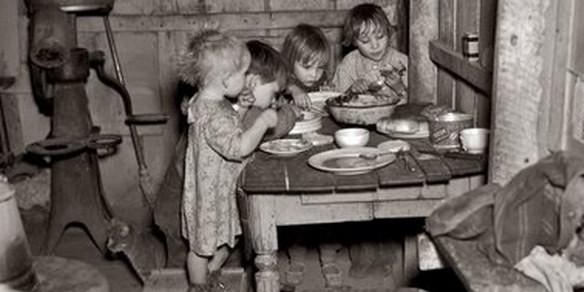 Comedores sociales a partir del New Deal.