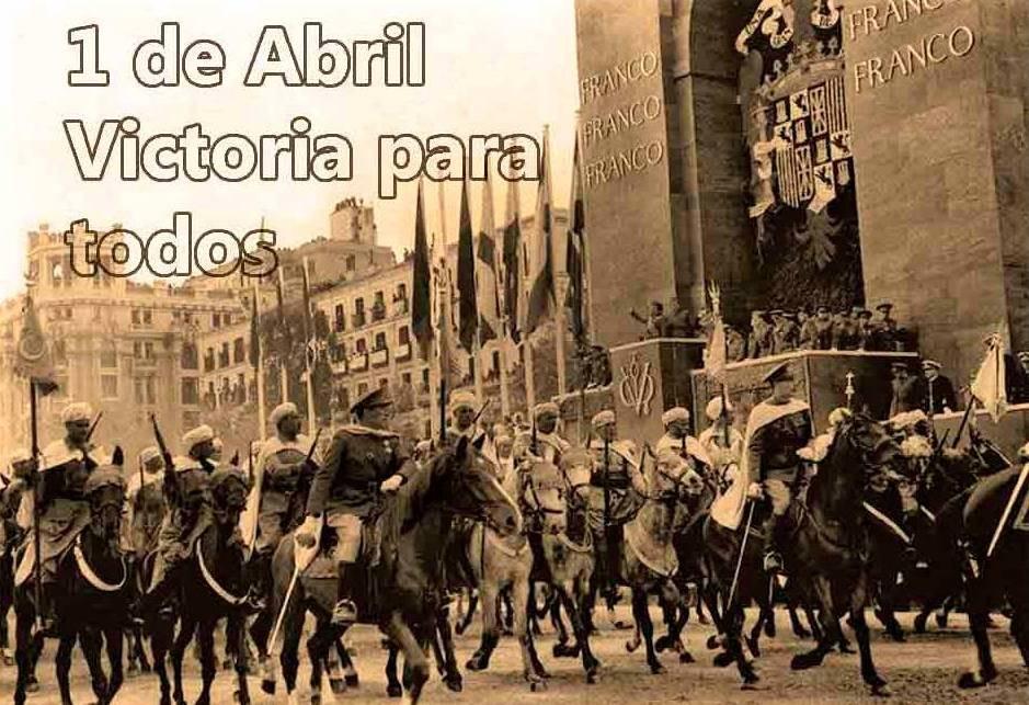 El desfile de la victoria.