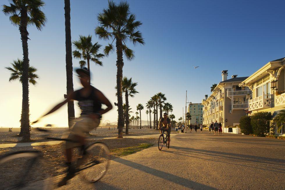 Venice Beach, pleno L.A.