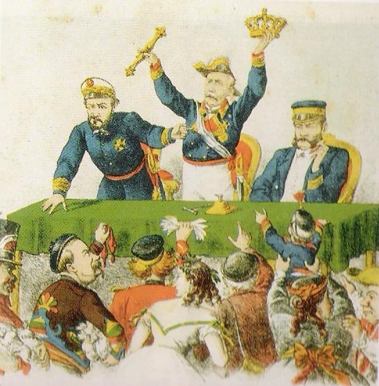 La subasta de la Corona.
