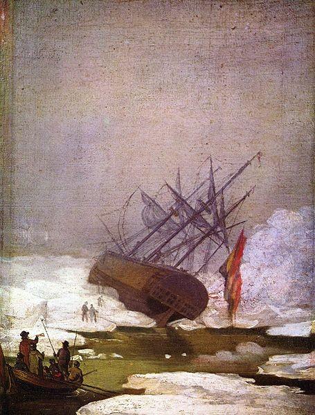 El naufragio del navío Esperanza, de Friedrich