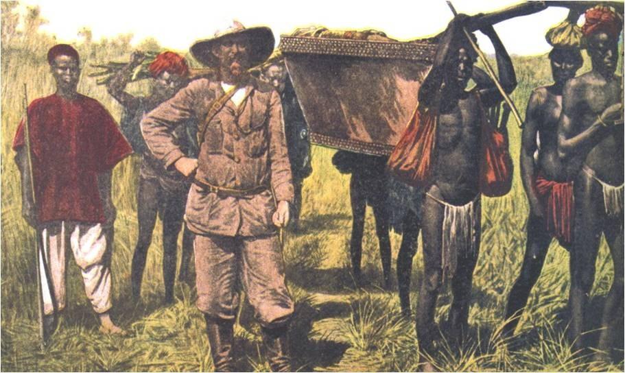 La exploración de África por parte de los ingleses.