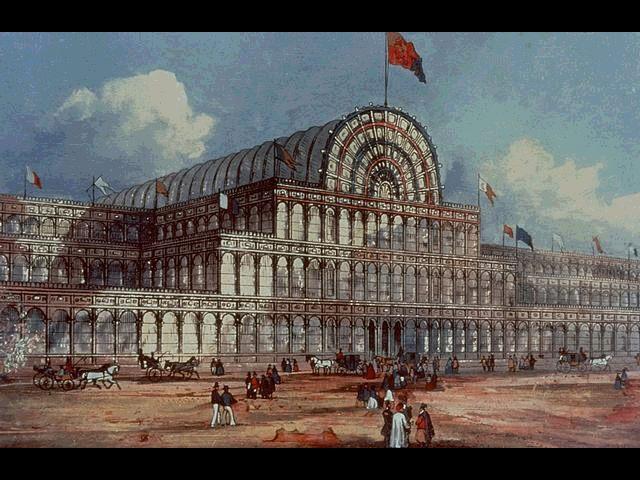 Crystal Palace de Londres de John Paxton.