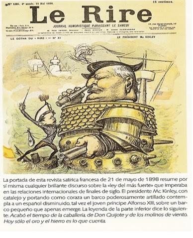 Conflicto desigual: EE.UU.-España.