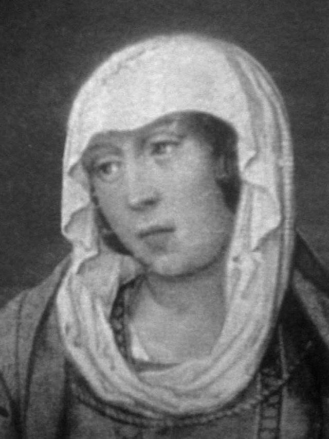 Juana la Beltraneja, única hija y heredera de Enrique IV y de su segunda esposa la reina Juana de Portugal.
