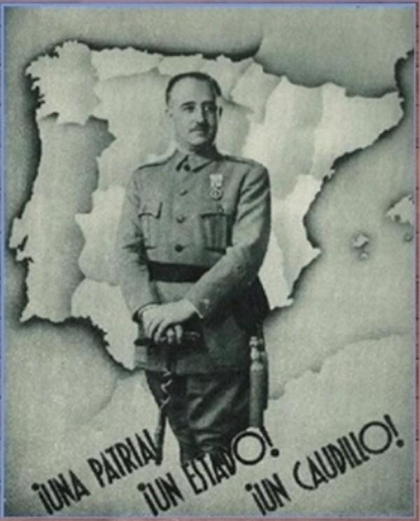 Franco como encarnación de la Patria.