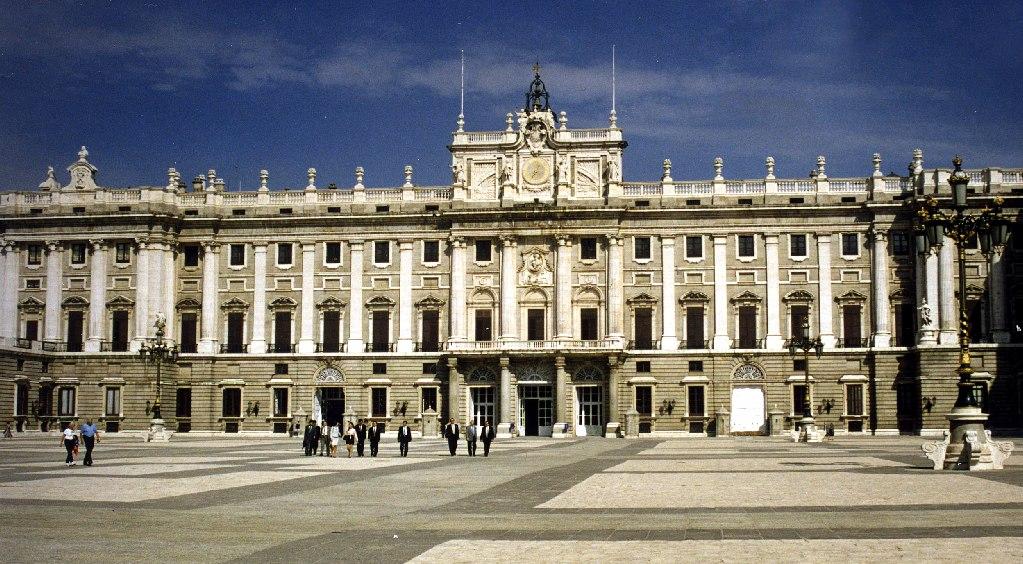 Palacio Real de Madrid de Sabatini y Juvara