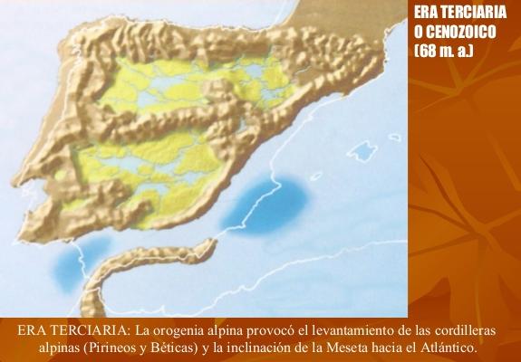 ERA TERCIARIA CENOZOICA (Hace unos 65 millones de años).