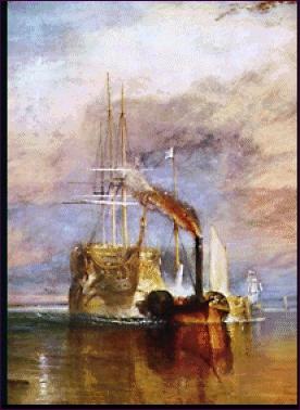 William Turner. El Temeraire.