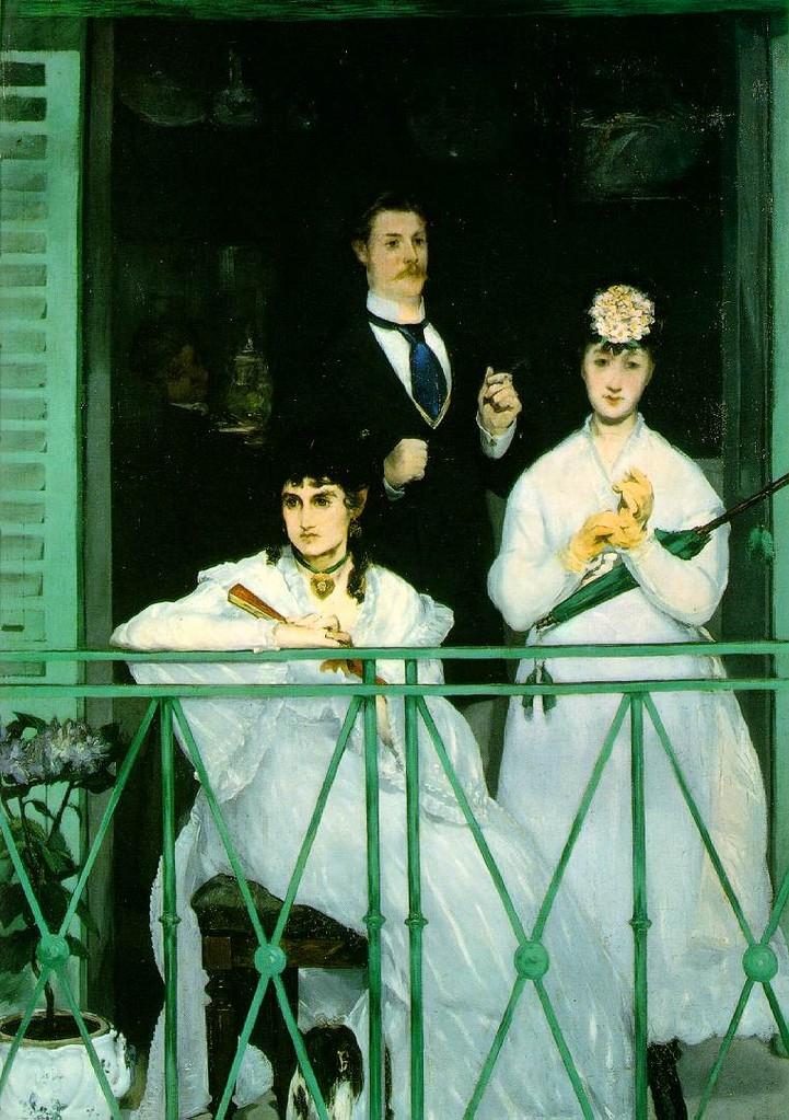 El balcón de Degás