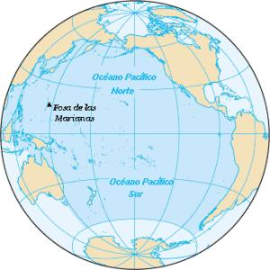 Localización Pacífico Norte y Sur.