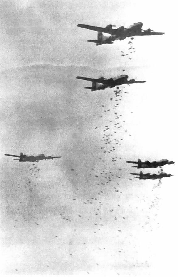"""Los bombardeos fueron el """"arma más utilizada""""..."""