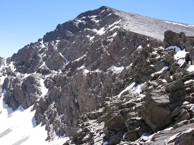 Mulhacén, Sierra Nevada.
