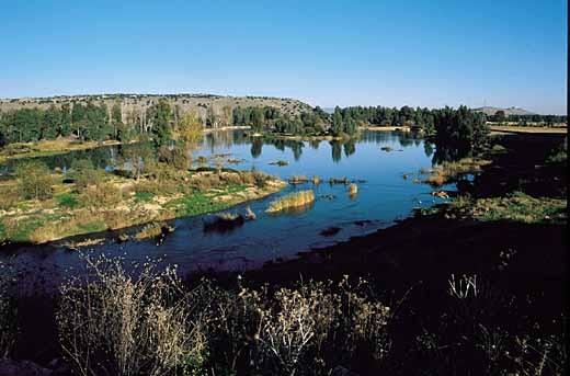El río Guadiana por Villanueva