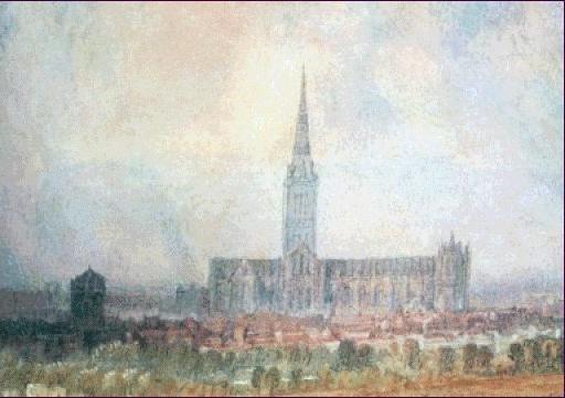 William Turner. Catedral de Salisbury.