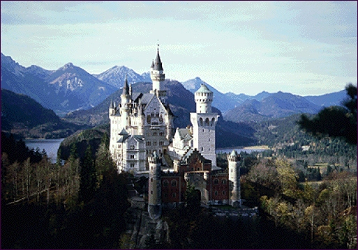 Jank Riedel. Castillo de Neuschwanstein