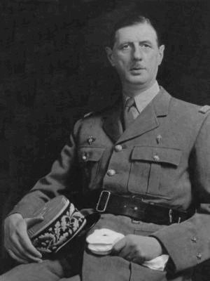 El general De Gaulle.