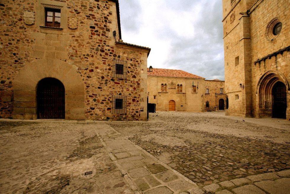 Casco histórico de Cáceres.