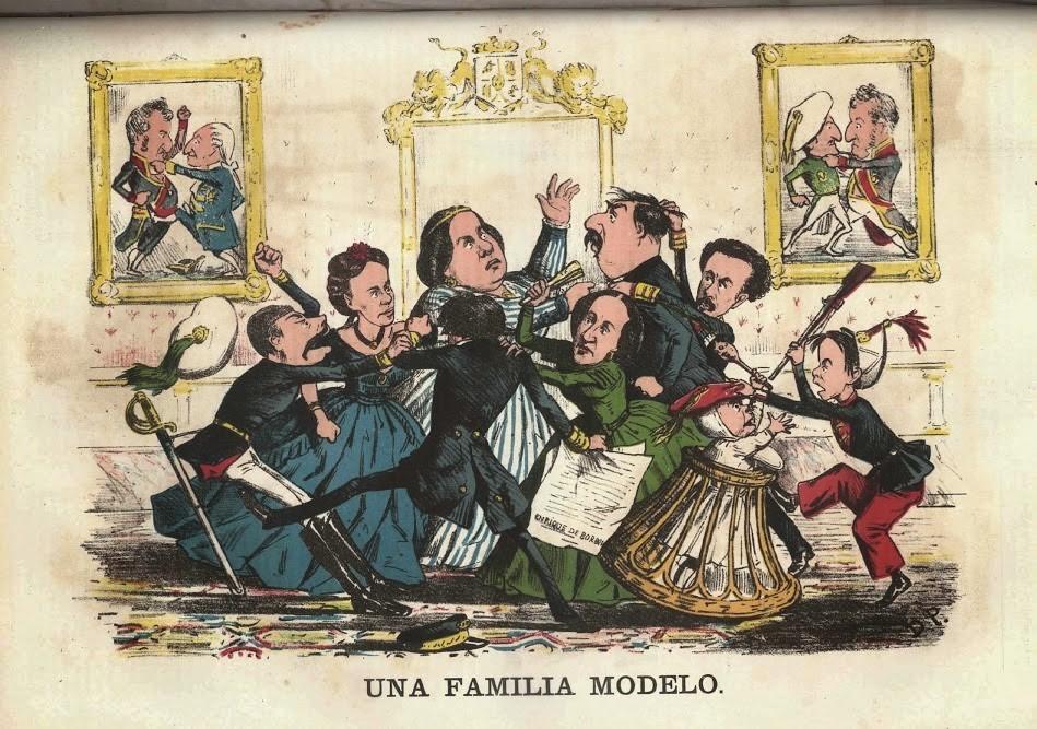 Líos de Familia: los Borobones.