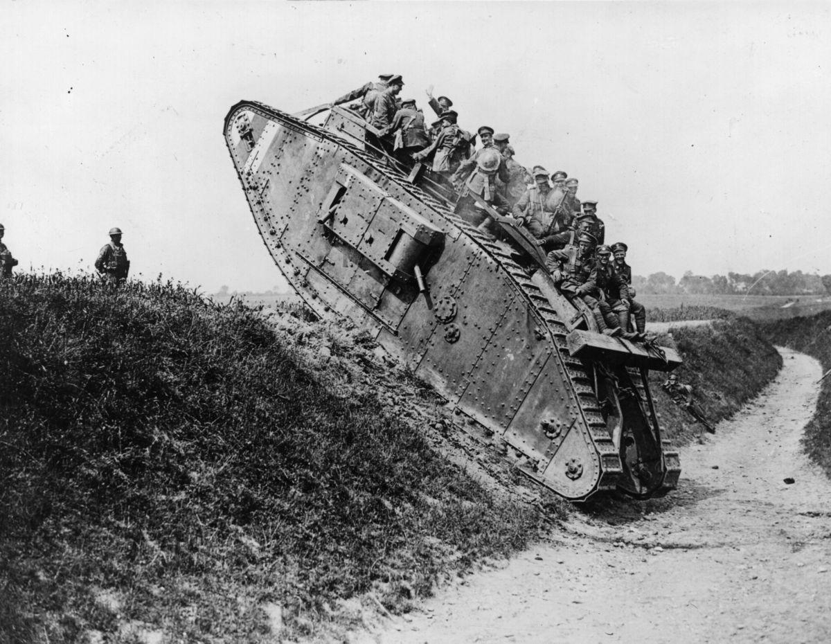 Tanque británico.