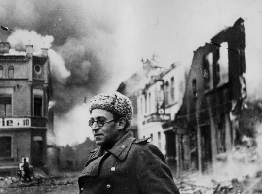 Vassili Grossman, escritor y reportero de guerra. Sin duda, el mejor cronista de guerra.