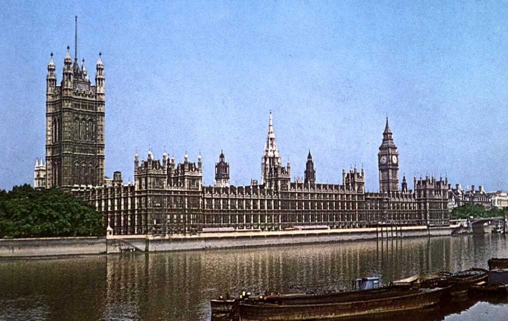Parlamento de Londres de Barry.