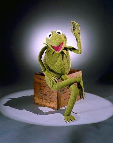 La historia de EE.UU. contada Kermit frog.