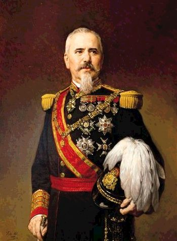F. Madrazo. Retrato de Serrano.