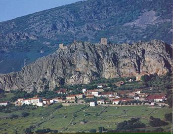 Vista general de Las Villuercas.