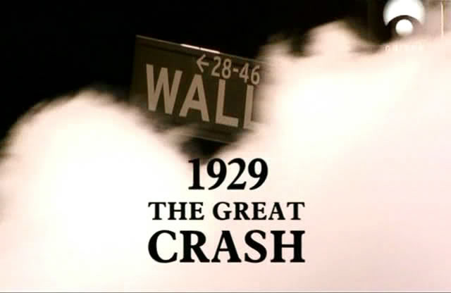 """The great crash"" en Wall Street."