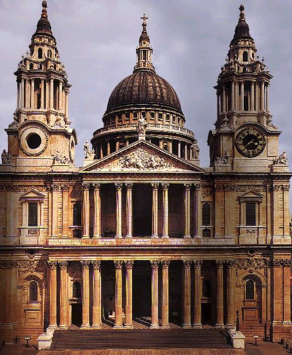 Catedral de San Pablo en Londres.